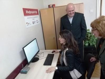 Rukovodstvo ISS-a posetilo infocentre u Regionalnim privrednim komorama u Nišu i Zaječaru