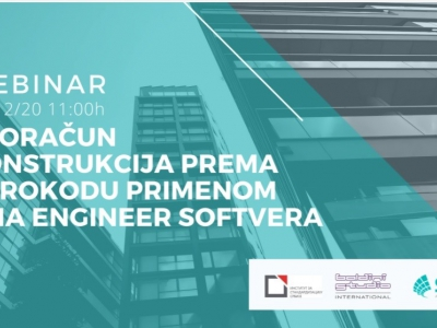 9 December 2020 - Free webinar: Design of structures according to Eurocodes using state of the art software