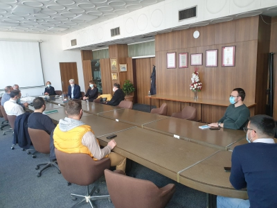ISS visiting the Faculty of Electronic Engineering, University of Niš